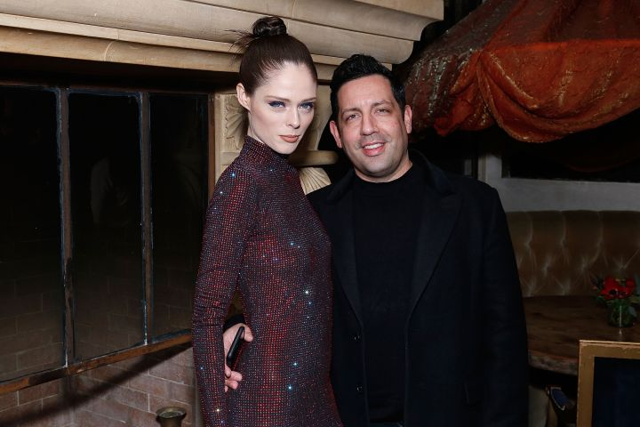Coco Rocha and James Conran. Photo: Getty Images