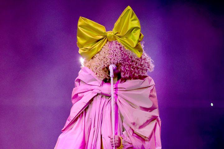 Sia. Photo by: Rich Polk/NBC/NBCU Photo Bank via Getty Images
