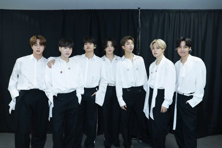 Photo by Big Hit Entertainment/AMA2020/Getty Images
