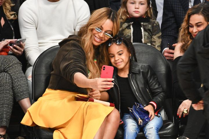 Beyoncé and Blue Ivy Carter. Photo: Allen Berezovsky/Getty Images