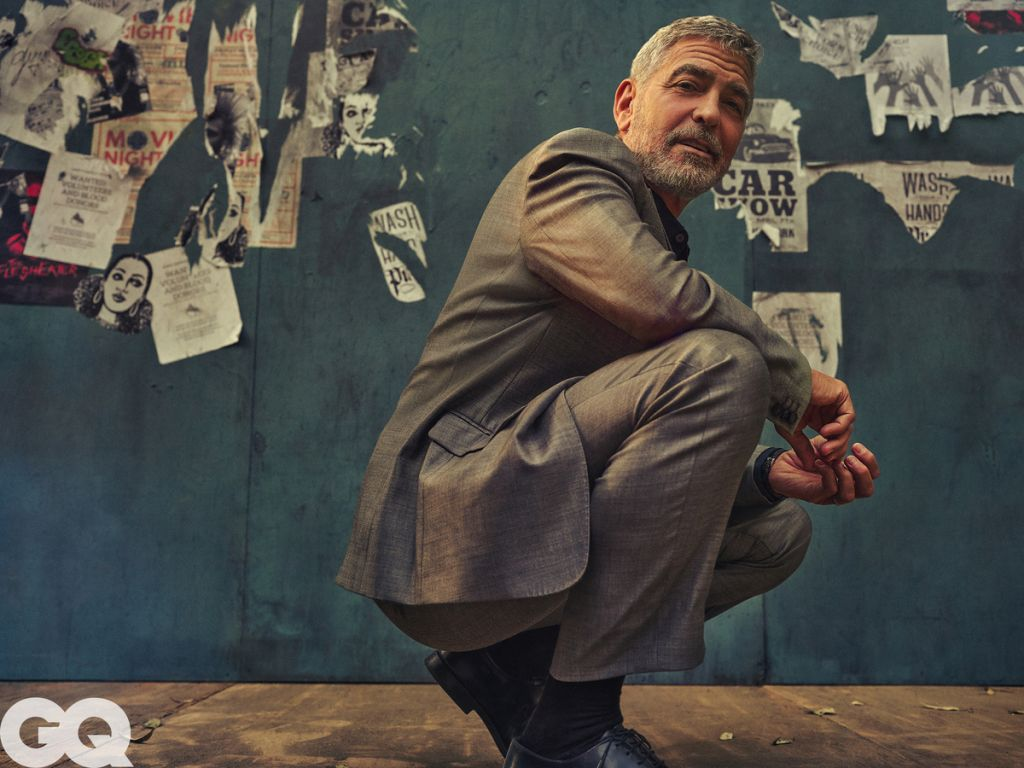 George Clooney. Photo: Jason Nocito for GQ