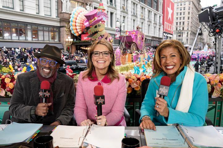 Al Roker, Savannah Guthrie and Hoda Kotb. Photo: Peter Kramer/NBC