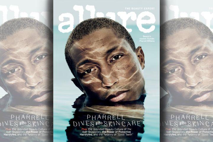 Pharrell Williams. Photo:  Ben Hassett for Allure