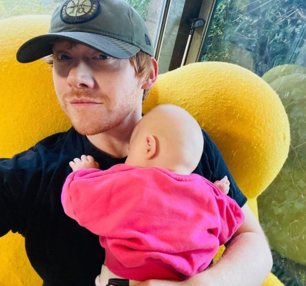 Rupert Grint Shares First Photo Of Daughter