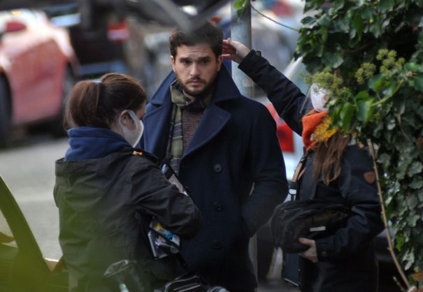 Kit Harington In Dublin Filming New Season Of 'Modern Love'  Amazon Prime's Modern Love In Dublin, Ireland