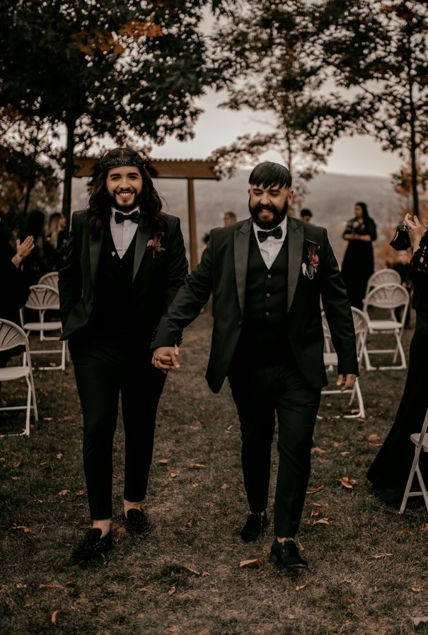 Alex Illest And Setenio Borges Tie The Knot