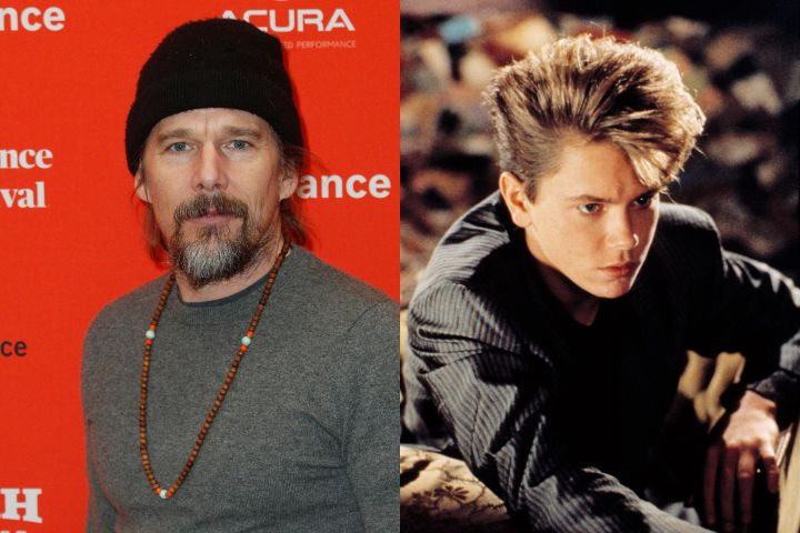 Ethan Hawke, River Phoenix. Photo: CP Images