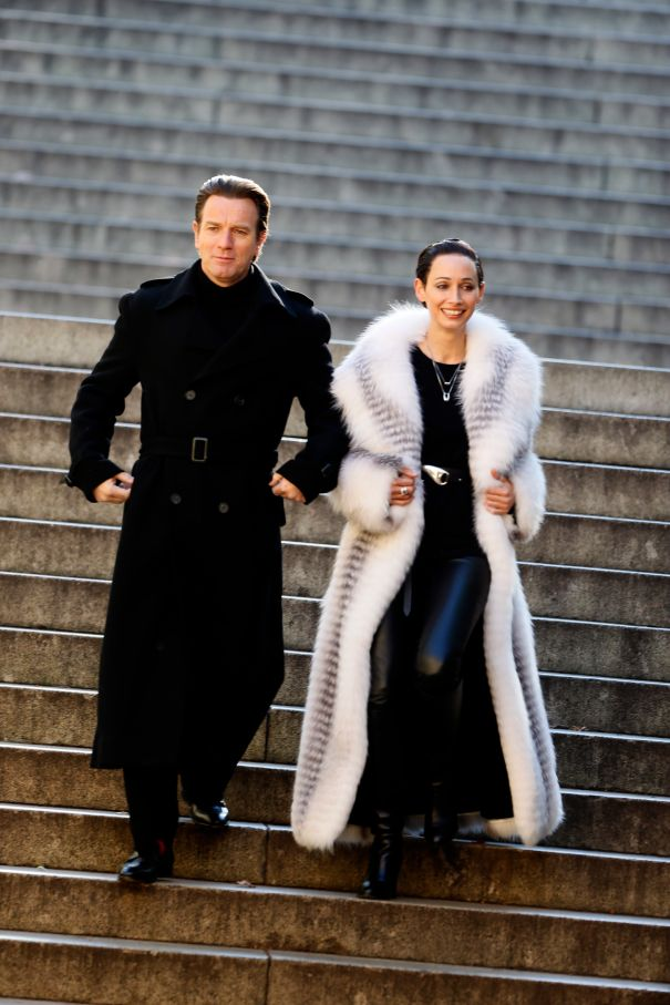 Ewan McGregor And Rebecca Dayan Set The Trend On 'Simply Halston'