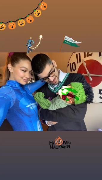 Gigi Hadid & Zayn Malik Share First Family Photo Since ...