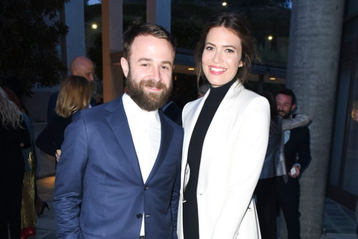 Taylor Goldsmith and Mandy Moore - Getty Images
