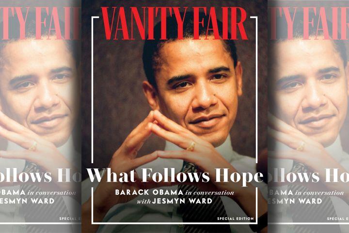 Barack Obama. Photo: Vanity Fair