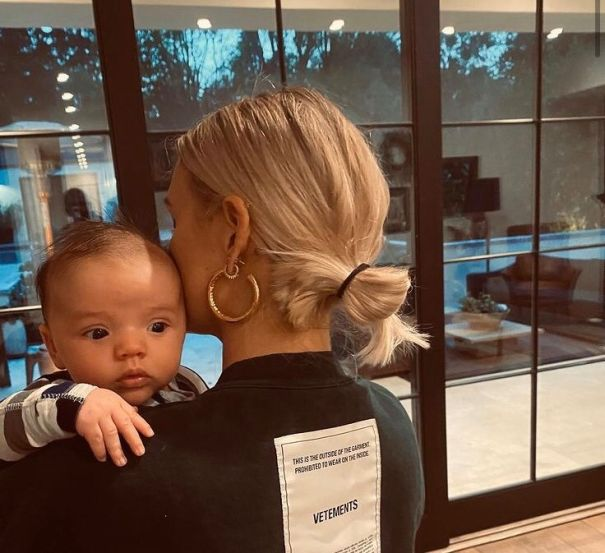 Ashlee Simpson Shares Adorable Photo Of 8-Week-Old Son