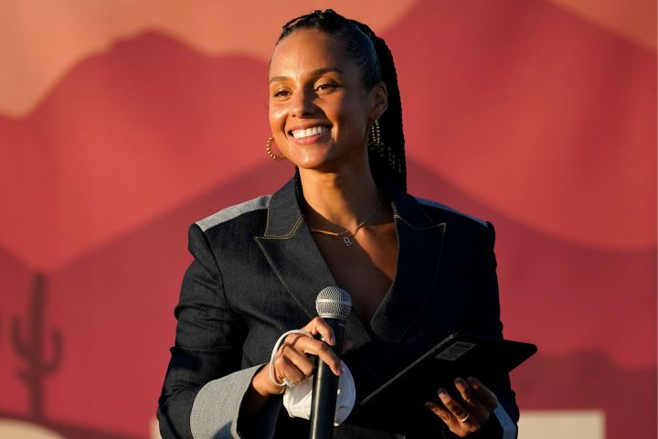 Alicia Keys. Photo: AP Photo/Matt York