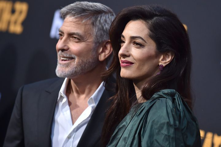 George Clooney and Amal Clooney. Photo: CP Images