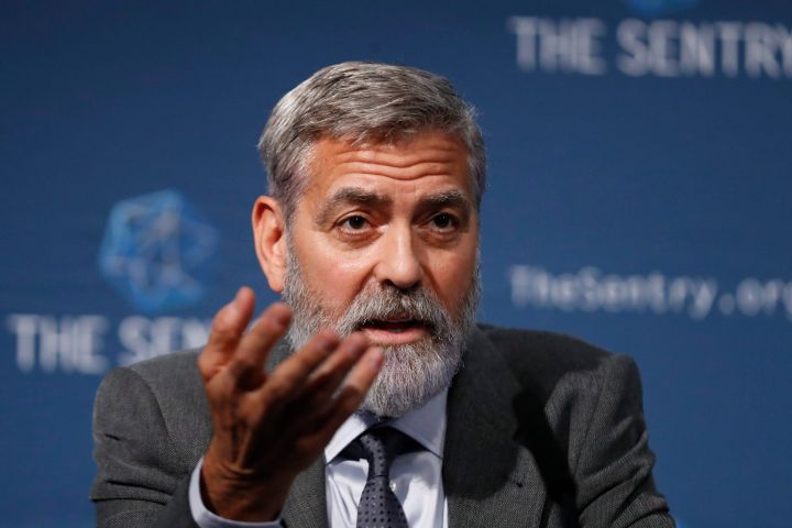 George Clooney. Photo: AP Photo/Alastair Grant