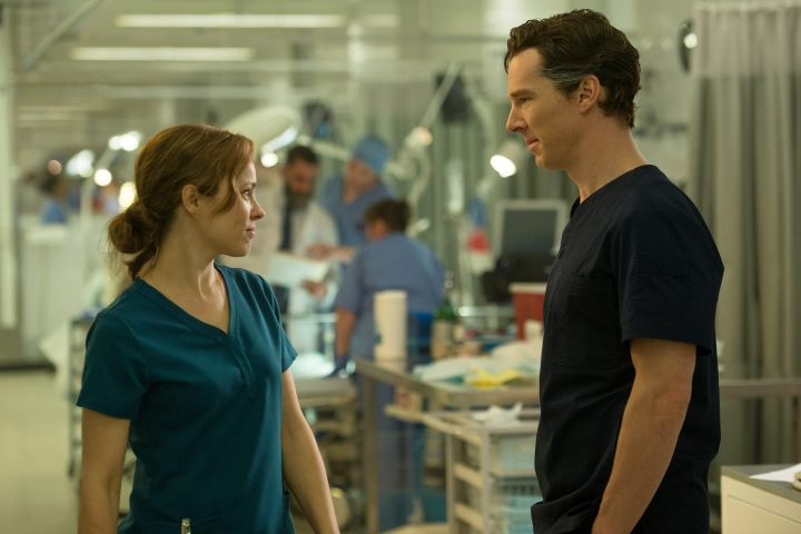 DOCTOR STRANGE, from left: Rachel McAdams, Benedict Cumberbatch, 2016. ph: Jay Maidment / © Walt Disney Studios Motion Pictures /Courtesy Everett Collection / CP Images