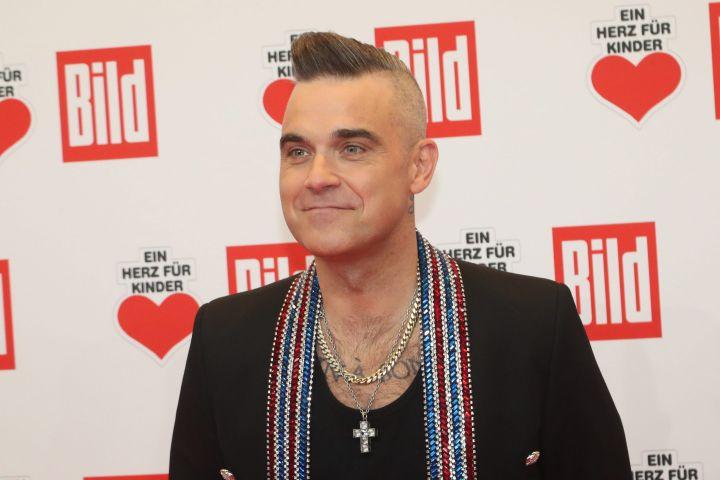 Robbie Williams. Photo: EPA/FOCKE STRANGMANN/CP Images
