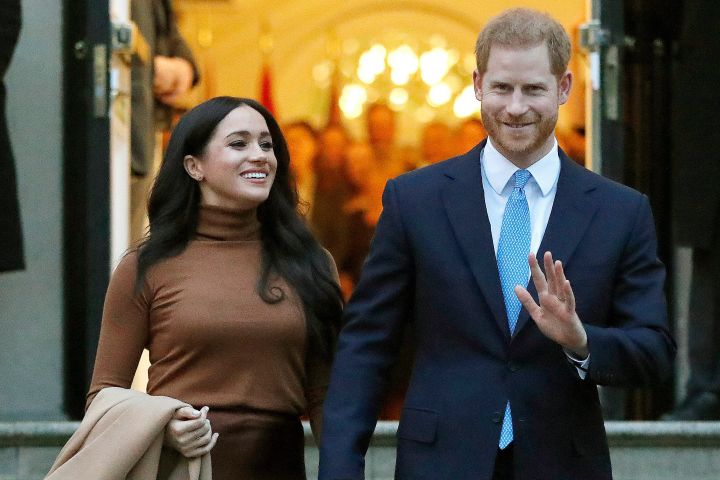 Meghan Markle and Prince Harry. Photo: AP Photo/Frank Augstein, File/CP Images