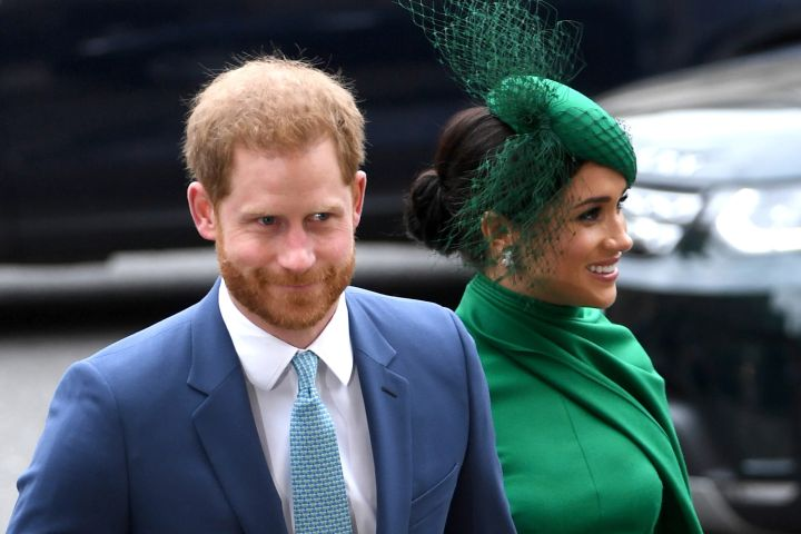 Prince Harry and Meghan Markle. Photo: EPA/NEIL HALL/CP Images