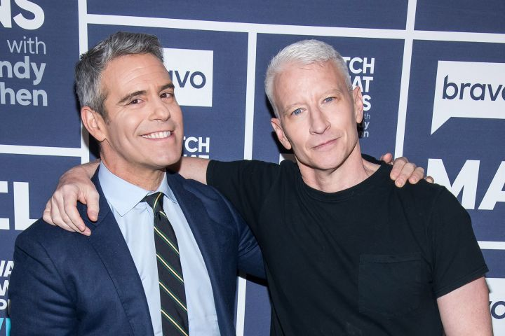 Andy Cohen and Anderson Cooper. Photo: Charles Sykes/Bravo/NBCU Photo Bank)/Getty Images