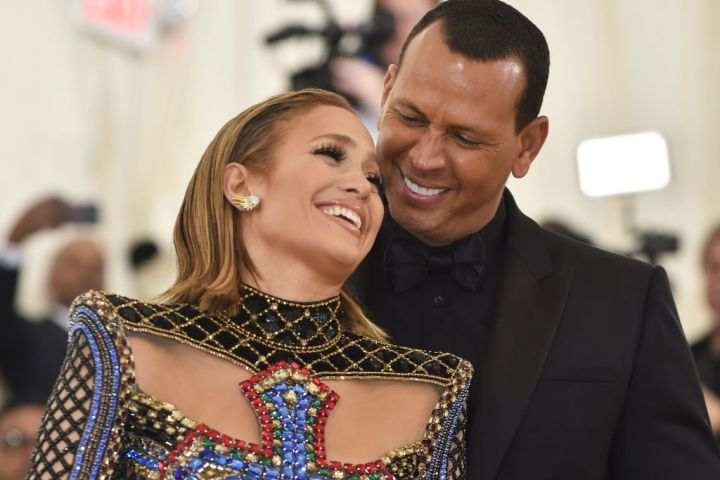 Jennifer Lopez and Alex Rodriguez. Photo: Getty
