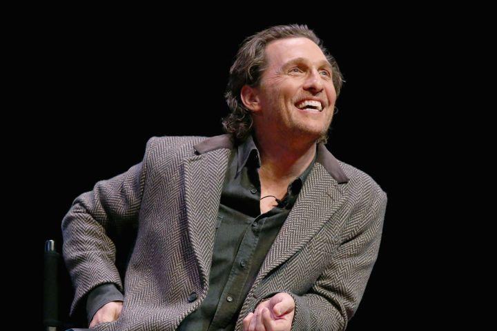 Matthew McConaughey. Photo: Getty Images