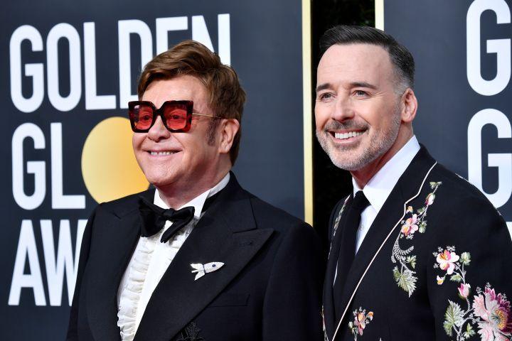 Elton John and David Furnish - Getty Images