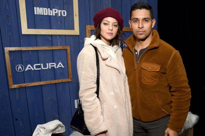 Amanda Pacheco and Wilmer Valderrama. Photo: Getty Images