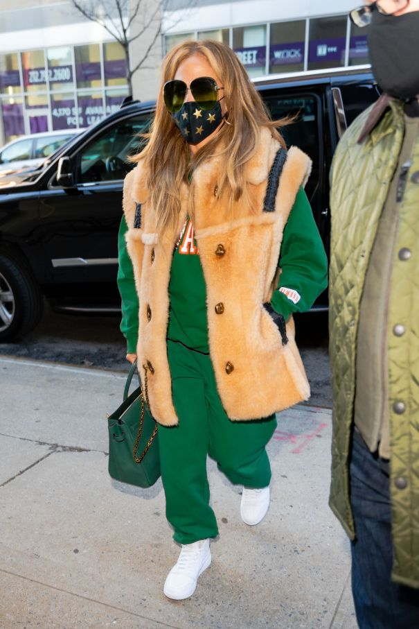 JLo Steps Out In NYC