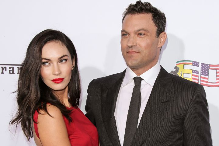 Megan Fox and Brian Austin Green. Photo: Getty Images