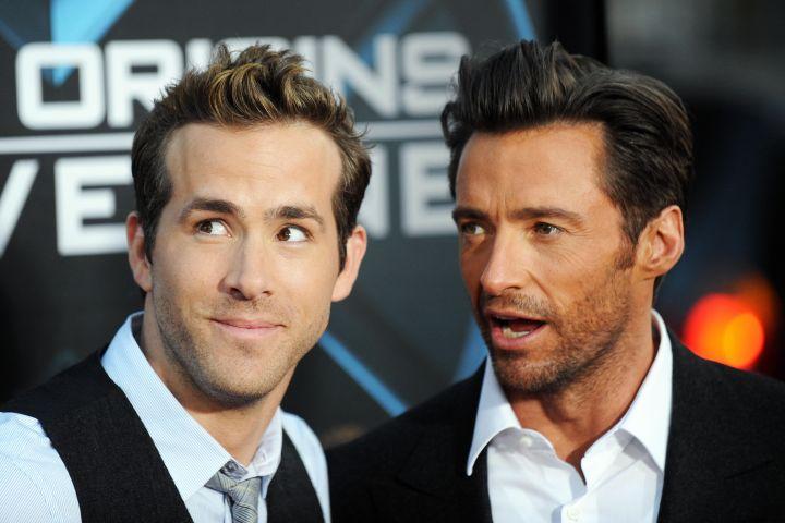 Ryan Reynolds and Hugh Jackman. Photo: JEWEL SAMAD/AFP via Getty Images