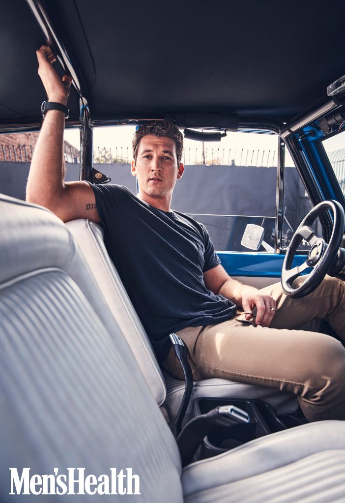 Miles Teller. Photo: Beau Grealy for Men's Health