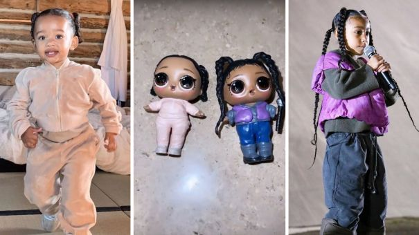 North And Chicago West In Doll Form
