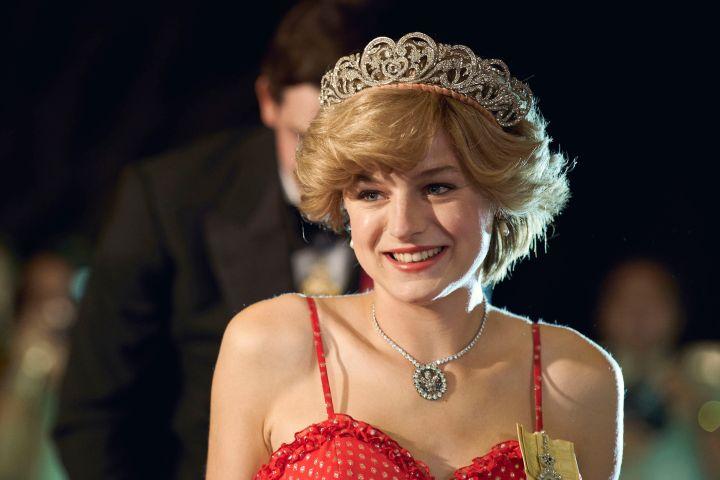 """Emma Corrin in """"The Crown"""". Photo: Des Willie/Netflix"""
