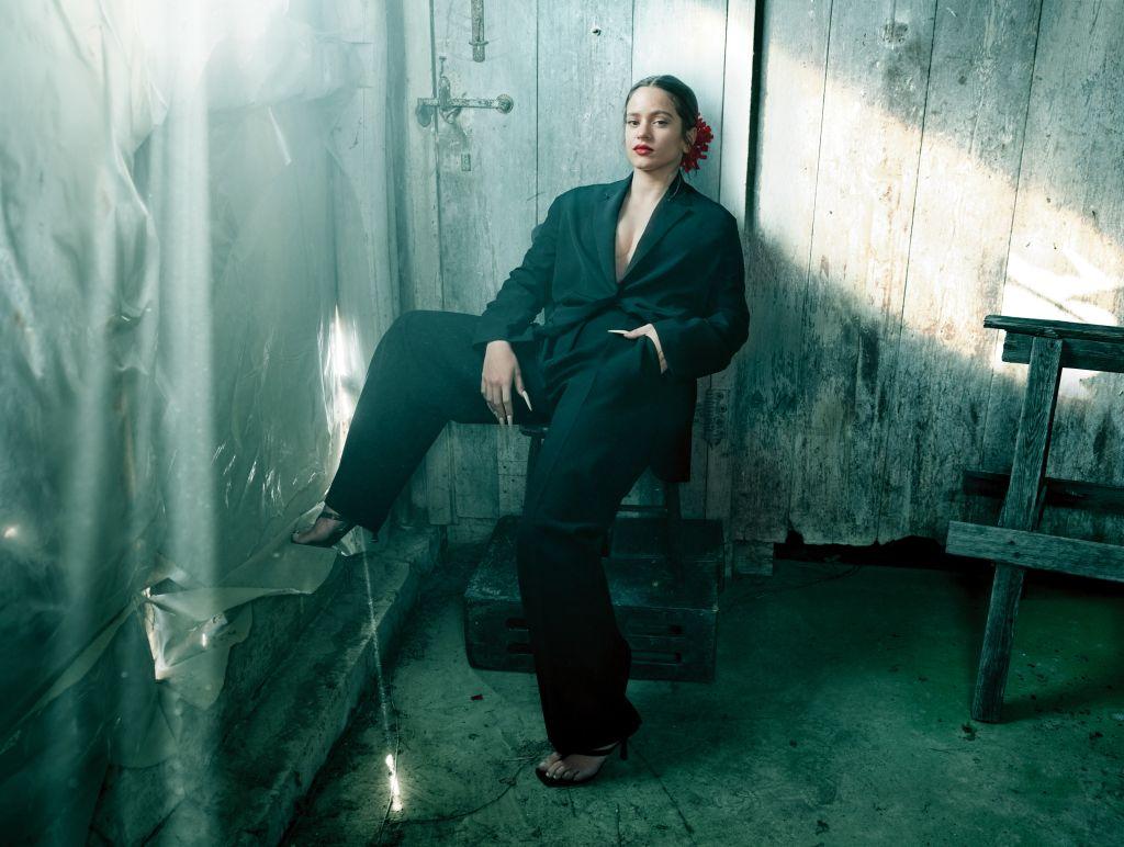 Rosalia. Photo: Annie Leibovitz for Vogue