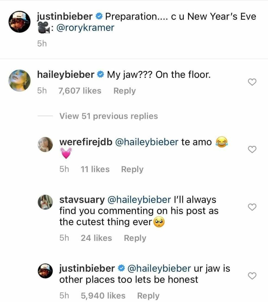 Credit: Instagram/Justin Bieber