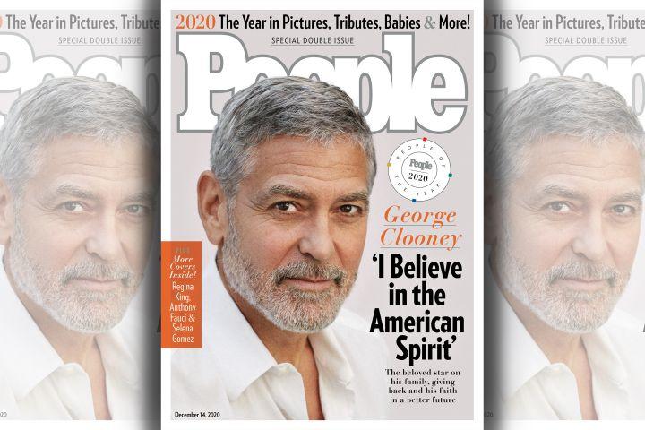 George Clooney. Photo: Sam Jones