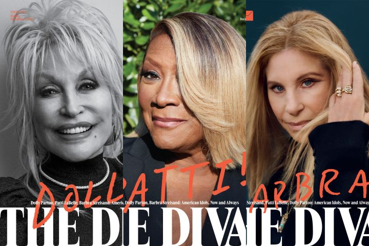 Dolly Parton, Patti LaBelle and Barbra Streisand. Photos: Craig McDean, Hank Willis Thomas and Deb Willis, and Collier Schorr