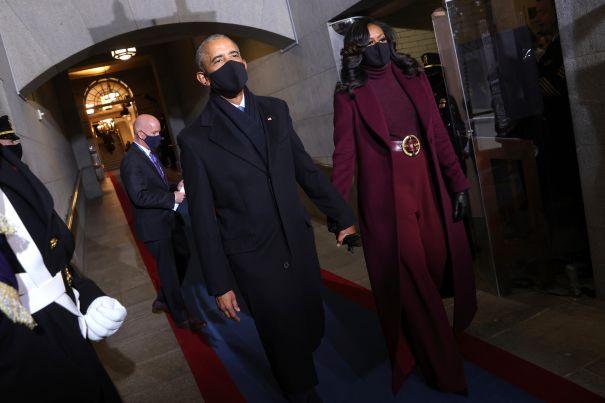 The Honourable Barack + Mrs. Michelle Obama