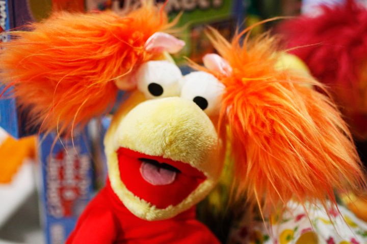 Red Fraggle, one of Jim Henson Company's Fraggle Rock characers, is shown at Time To Play Holiday Show, Tuesday, Sept. 28, 2010, in New York.