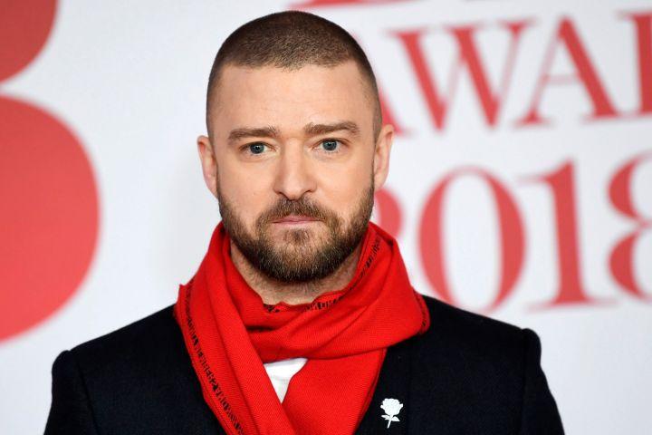 Justin Timberlake. Photo: PA/NEIL HALL