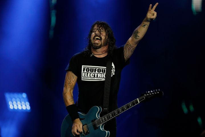 Dave Grohl. Photo: AP Photo/Leo Correa/CP Images