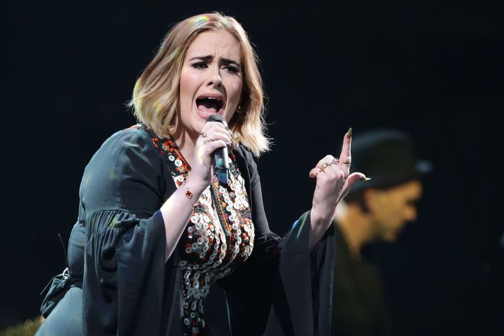 Adele. Photo: CP Images