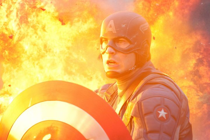 "Chris Evans in ""Captain America: The First Avenger"". Photo: Paramount Pictures/courtesy Everett Collection/CP Images"