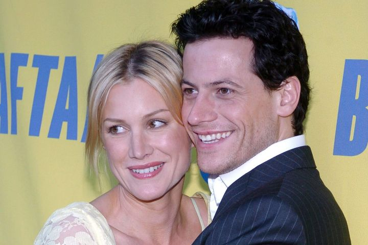 Ioan Gruffudd and Alice Evans. Photo: Nicolas Khayat/ABACA/CP Images