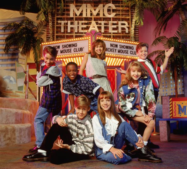 Early '90s: Mickey Mouse Club