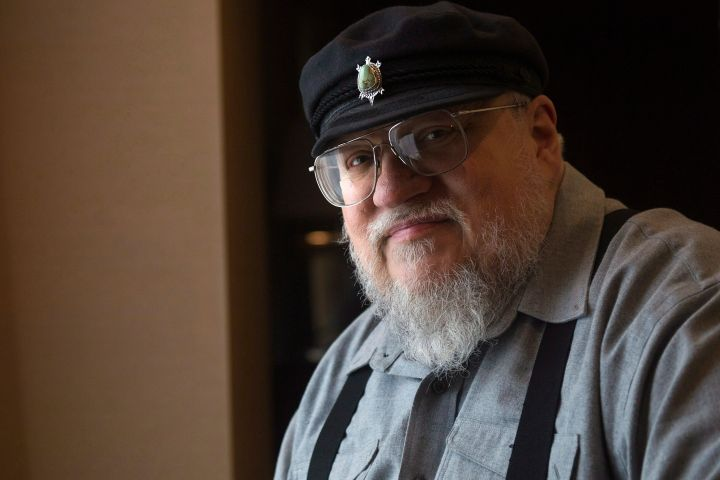 George R.R. Martin. Photo: THE CANADIAN PRESS/Nathan Denette