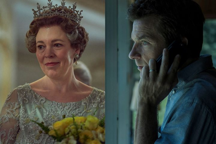 """""""The Crown"""" and """"Ozark"""". Photos: CPImages/Netflix"""
