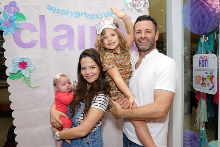 Tammin Sursok, Sean McEwen. Photo by Tiffany Rose/Getty Images for Claire's