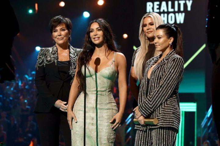 Kris Jenner, Kim Kardashian, Khloé Kardashian, and Kourtney Kardashian